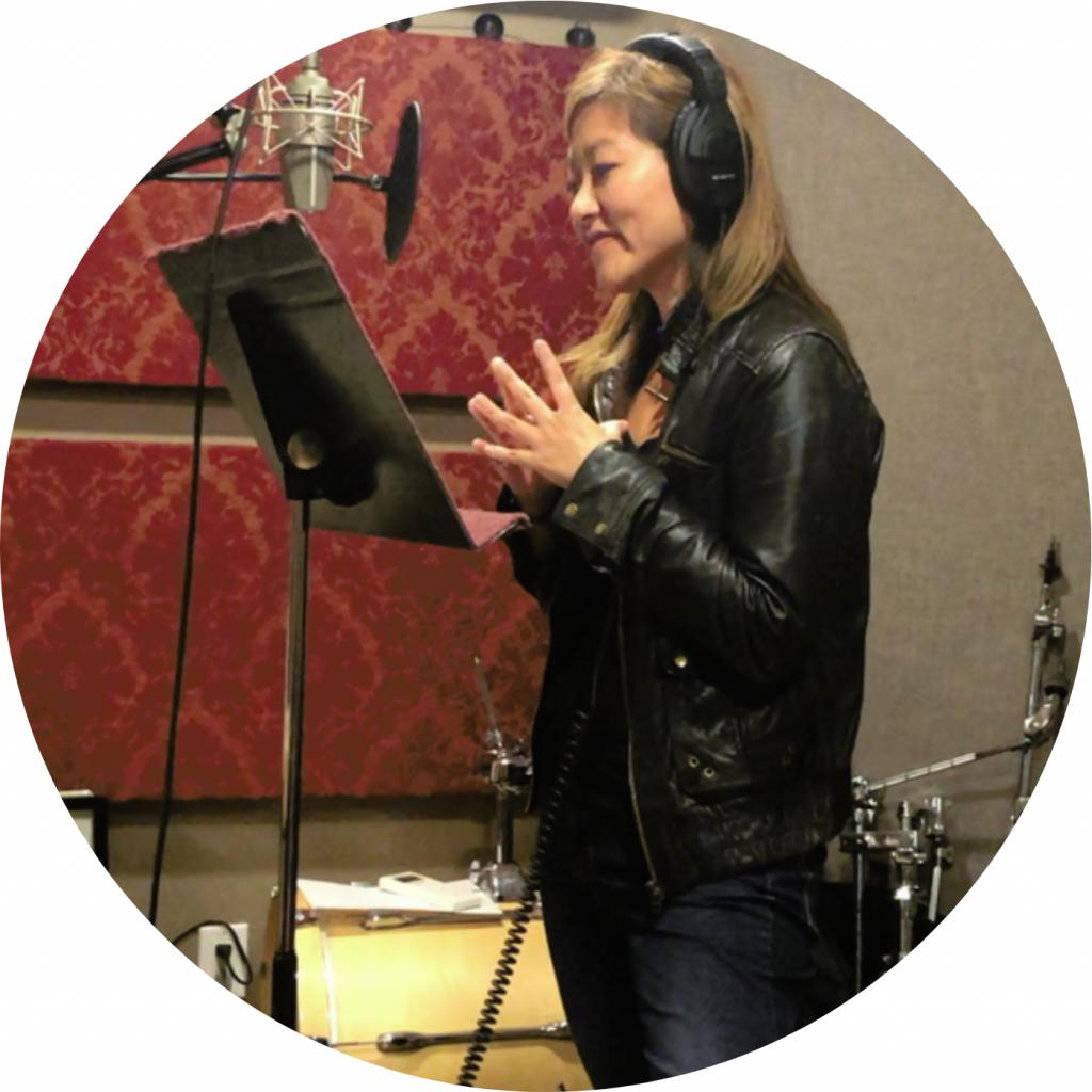 Theresa Ho in Studio